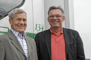 Bengt Nilsson och nuvarande VD Roger Nilsson.